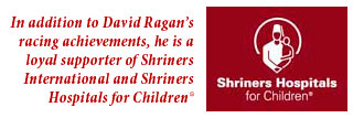 David Ragan and Shriners Hospital